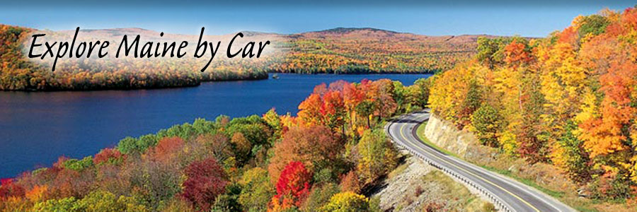 Click to Explore Maine by Car